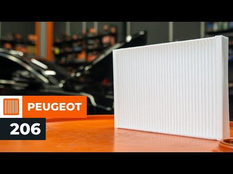 Så Byter Du Kupéfilter På Peugeot 206 Guide Autodoc