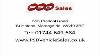 preview picture of video 'PSD Vehicle Sales Reviews - St Helens - Car Dealerships St Helens Reviews'