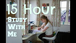 Study With Me    15 HOUR STUDY DAY (study motivation)