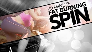 20 Minute Spinning Workout (FAT BURNING CYCLE TRAINING!!)