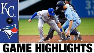 Основные моменты игры Royals vs. Blue Jays (30.07.21)   Основные моменты MLB