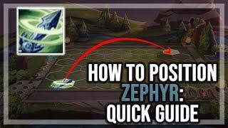 TFT Positioning Guide   Zephyr [Teamfight Tactics Tutorial Guide]