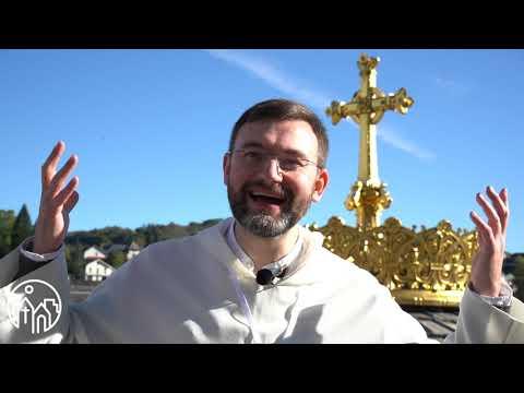 Fr. Philippe Verdin interviewe Fr. François-Dominique sur son homélie du jeudi