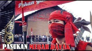 Pasukan Merah Dayak Kalimantan
