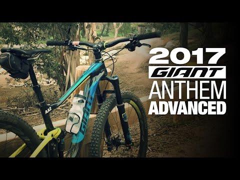 2017 Giant Anthem Advanced 1 27.5 Mountain Bike Review – Giant Demo Day