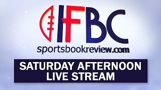 IFBC Saturday Afternoon Live Stream | Football Betting Panels from The Golden Nugget in Las Vegas