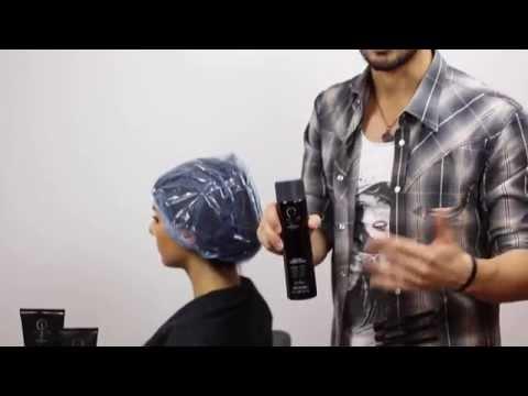 Maschera di negozio del corpo di capelli