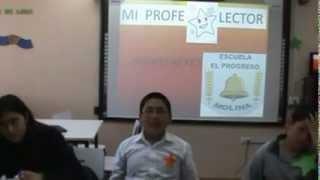 Mi profe estrella escuela el Progreso de Molina