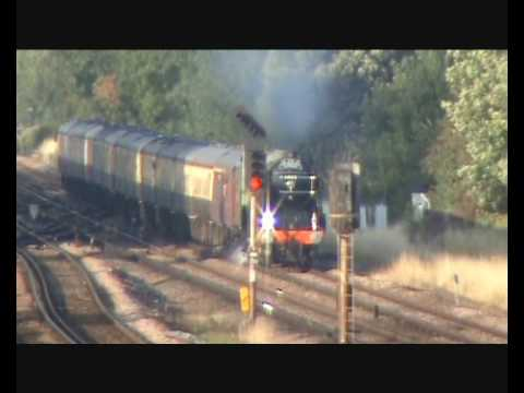 LNER A1 60163 'Tornado' crosses Stoats Nest Junction with Th…