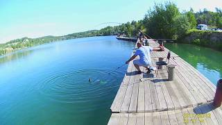 Зеркальный карьер рыбалка челябинск