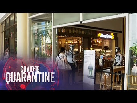 [ABS-CBN]  Drive-buy shopping, ipinapatupad ng mall operator | Teleradyo