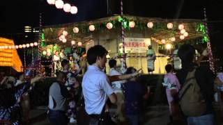 Japanese Lantern Festival Dance みたま祭り 盆踊り 銀座のカンカン娘