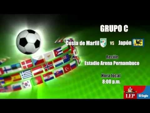 Costa de Marfil vence a Japón, 2-1