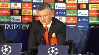 LIVE: Man Utd manager holds press conference ahead of CL match against Barcelona