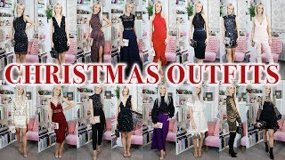 19 CHRISTMAS PARTY OUTFITS: ASOS HAUL AND TRY ON