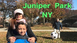 Going to Juniper Park , Queens NY .Fall Family Day