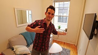 My TINY NYC Apartment Tour ! (350 Sq Ft in Greenwich Village, Manhattan) Part 2