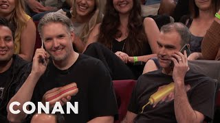 Shirt Buddies In The CONAN Audience  - CONAN on TBS - Video Youtube