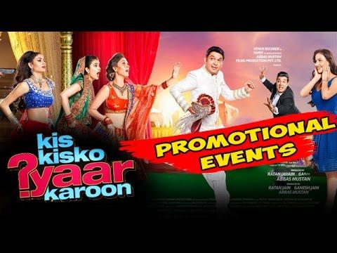 Download Kis Kis ko Pyaar Karu Movie (2015)   Kapil Sharma, Elli Avram   Uncut Promotional Events HD Mp4 3GP Video and MP3
