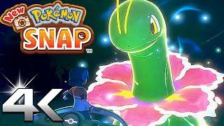 New Pokemon Snap - Release Date Trailer 2021 (4k Ultra HD) Nintendo Switch Gameplay