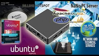 NaNo PC Server Billing Hotspot 4GB Hotspot RT RW Net