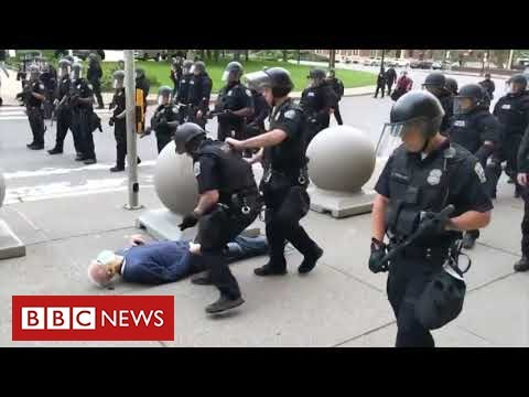 New anger in United States over video of police violence - BBC News