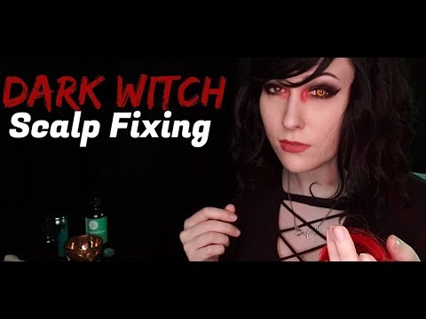 ASMR Witch Scalp Fixing