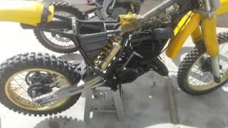 1984 yz 490 dirtbike seized up engine easy fix