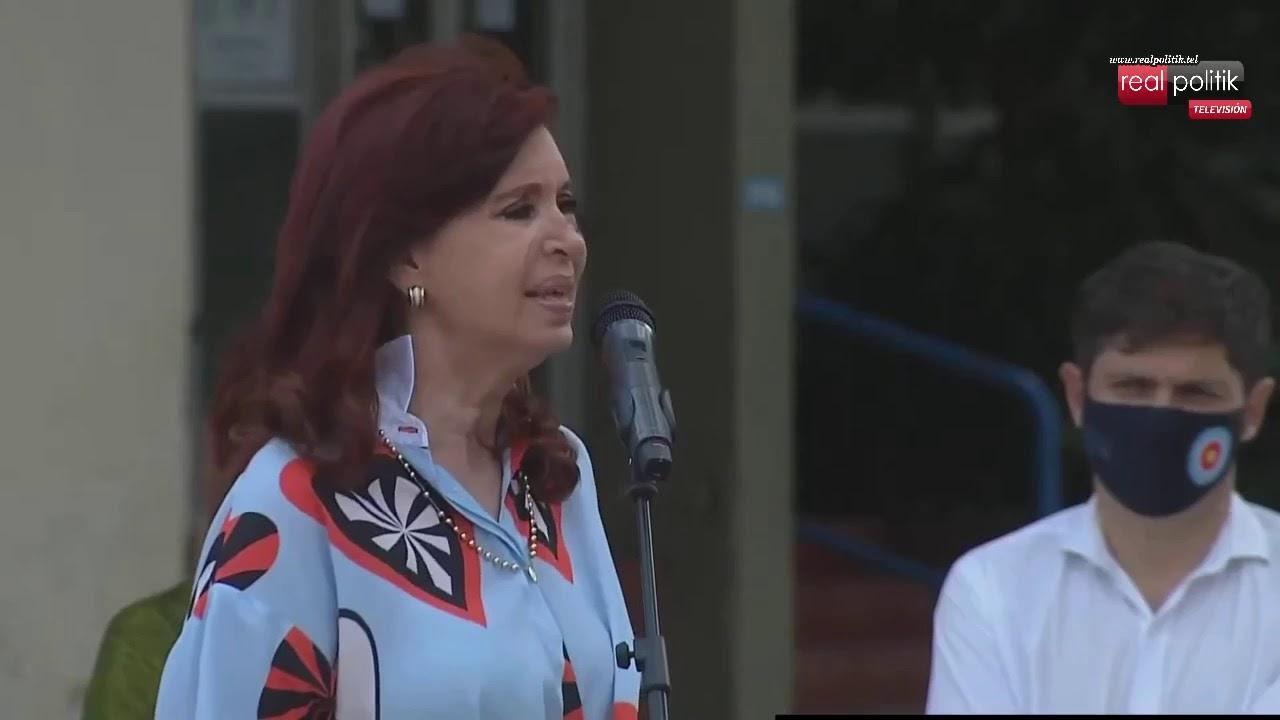 """En un acto por el día de la Memoria, CFK dijo que """"no tenemos plata para pagarle al FMI"""""""