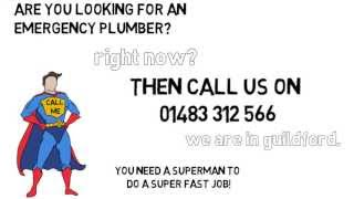 preview picture of video 'Emergency Plumber Guildford - Call Now On 01483 312 566'
