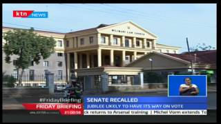 Senate set to reconvene special sitting next week to pass amendments on election laws