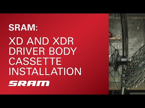 SRAM: XD and XDR Driver Body Cassette Installation