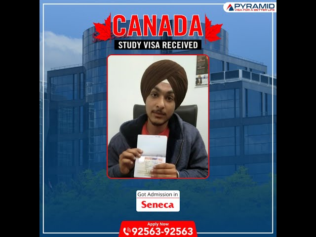 Study Visa Approved for Canada
