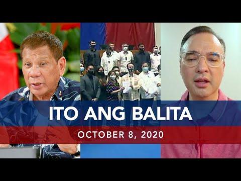 [UNTV]  UNTV: Ito Ang Balita   October 8, 2020