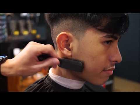 Basic Men's Haircut Tutorial ( Textured Haircut )