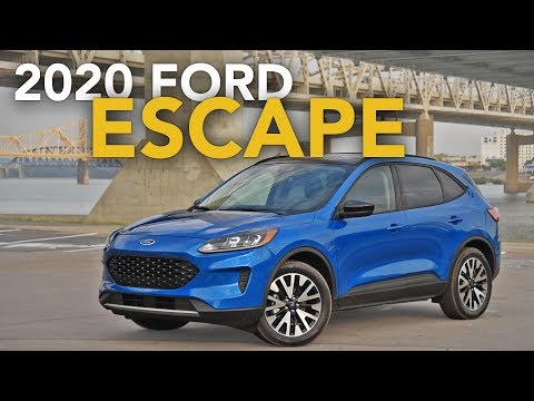 2020 Ford Escape Review - First Drive