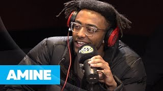 Real Late - Aminé Stops By Hot 97 To Celebrates Going Gold, and Convince Ebro to Attend Glitter Pop