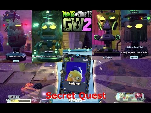 PLANTS VS  ZOMBIES GARDEN WARFARE 2! THE QUEST FOR QUESTS