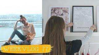 NIEUWE POSTERS & NAAR EEN EVENT - WEEKVLOG 77