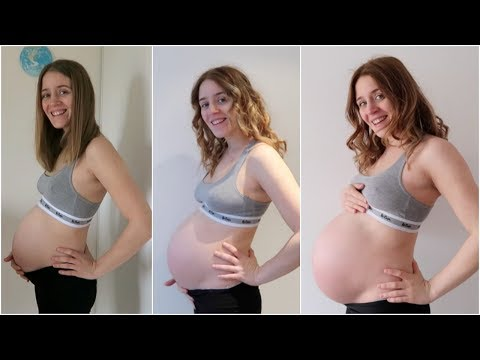 EPIC PREGNANCY TRANSFORMATION |  14 - 40 WEEKS