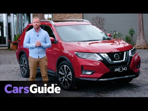 Nissan X-Trail 2017 review: first drive video