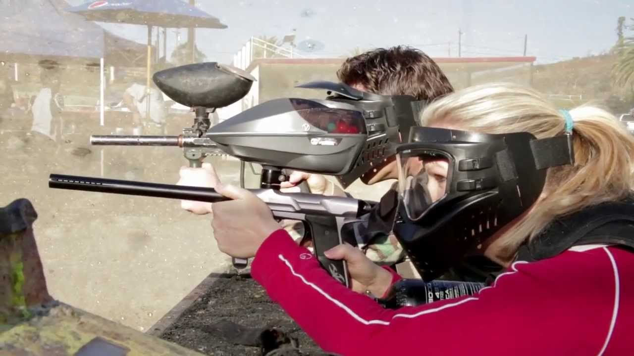 Go paintball with friends at San Diego's Paintball Park