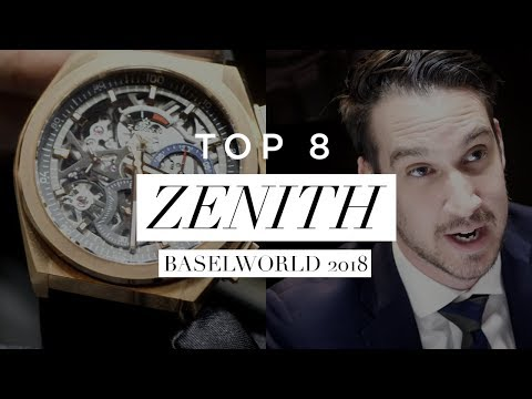 Which ZENITH WATCH should you buy?    Our TOP 8 of 2018