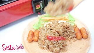 วิธีทำข้าวผัดกระเทียม อาหารง่ายๆ ทำเองได้ที่บ้าน