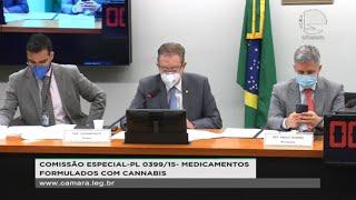 Remédios com cannabis - Apresentação do Parecer do Relator, Deputado Luciano Ducci. - None
