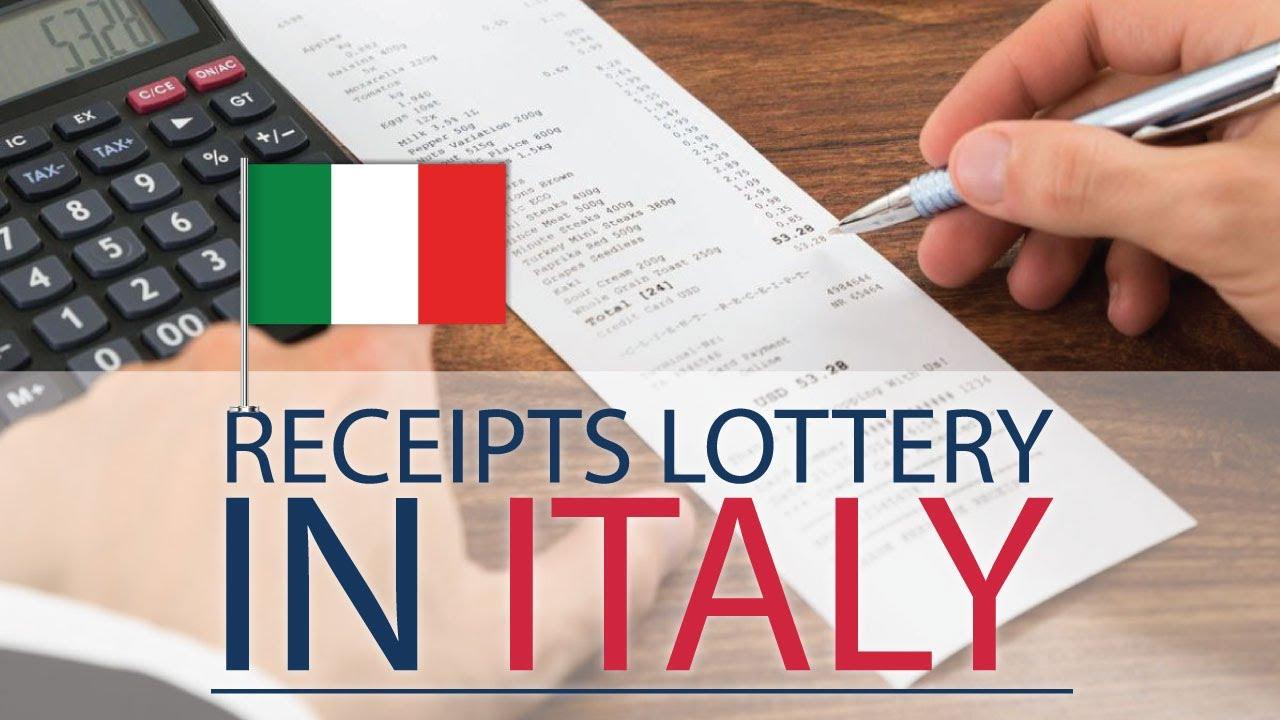 Receipts Lottery - novelty in Italy from January 2020