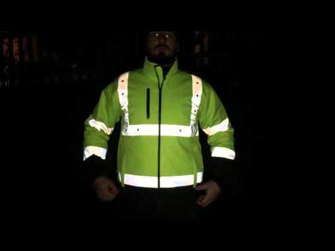LED Arbeitsjacke von Secor.ch