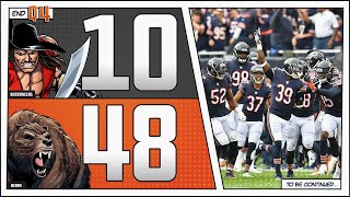 Bears 48 Buccaneers 10: THE MONSTERS ARE BACK