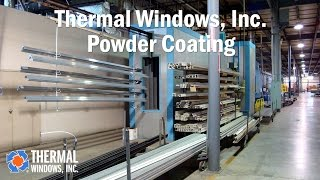 Thermal Windows Powder Coating