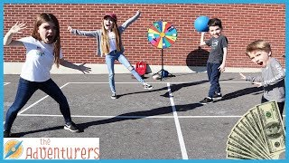 Playground Wars FOUR SQUARE TEMPTATiONS  That YouTub3 Family